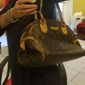"""""""Louis Vuitton """"MONTORGUEIL""""bag Authentic"""